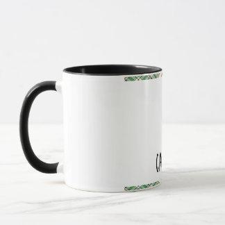 Tartan-karierte Muster-Sammlung - Grün - 01 Tasse