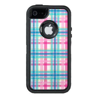 Tartan, kariertes Muster OtterBox iPhone 5/5s/SE Hülle
