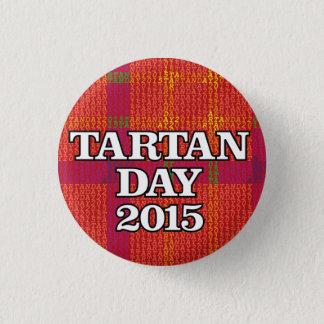Tartan-Tagc$mini-knopf 2015 Runder Button 2,5 Cm