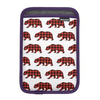 Tartanbär Sleeve Für iPad Mini