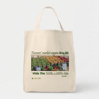 Tasche der Bauern des Markt-(Kram-Nahrung)