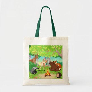 Tasche der Einfachen Reise Tiere des Walds