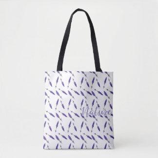 Tasche des Tuchs,- Nature Lavanda -