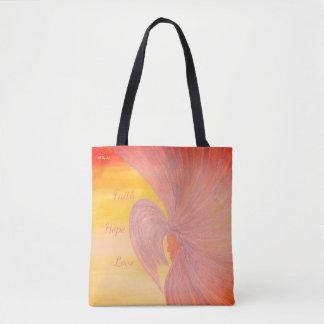 """Tasche - """"hoffnungsvoll"""" durch alle Freude-Kunst"""
