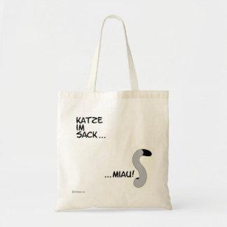 Tasche Katze im Sack orimono