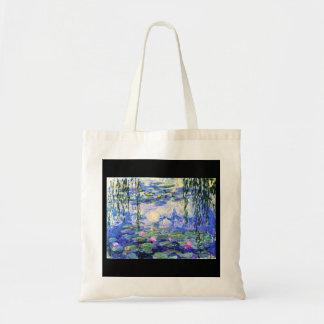 Tasche-Klassisch/Vintag-Claude Monet 12 Budget Stoffbeutel