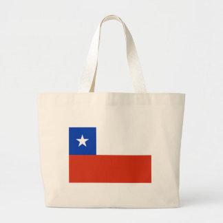 Tasche mit Flagge des Chilen
