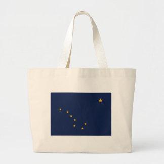 Tasche mit Flagge von Alaska-Staat - USA