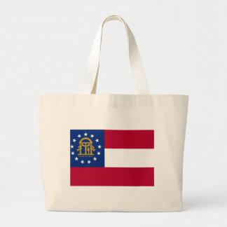 Tasche mit Flagge von Georgia-Staat - USA