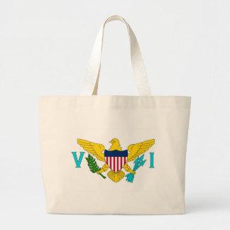 Tasche mit Flagge von Jungfrau-Inseln USA