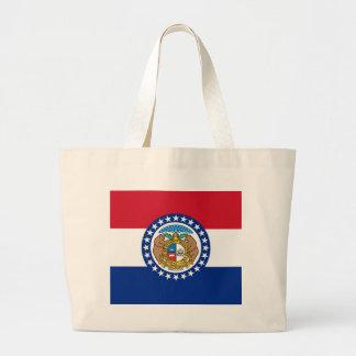 Tasche mit Flagge von Missouri-Staat - USA