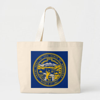 Tasche mit Flagge von Nebraska-Staat - USA