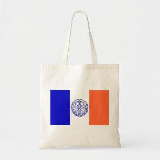 Tasche mit Flagge von New York City - USA