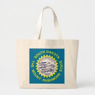 Tasche mit Flagge von South- DakotaStaat - USA
