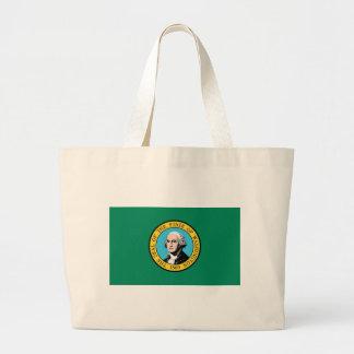 Tasche mit Flagge von Washington-Staat - USA