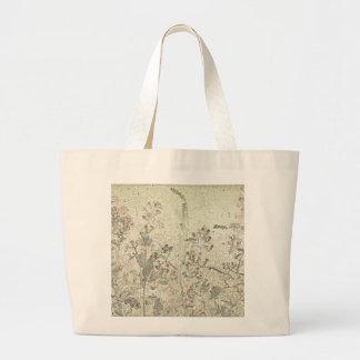 Tasche mit Spätsommer-Blumen