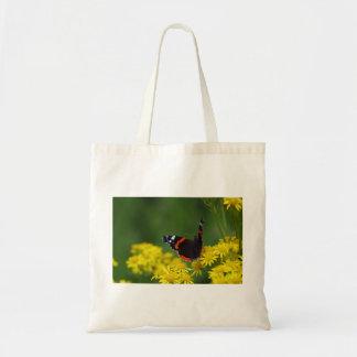 Tasche roten Admiral-Schmetterling