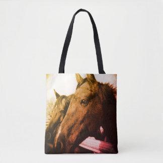 Tasche - rotes Pferd