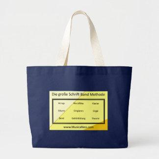Tasche:  Sterben große Schrift Band Methode