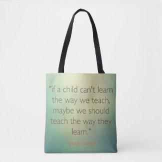 Taschen-Bildungszitate Tasche