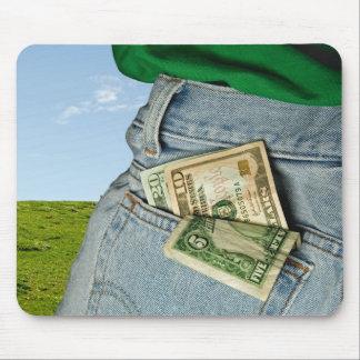 Taschen-Geld Mousepad