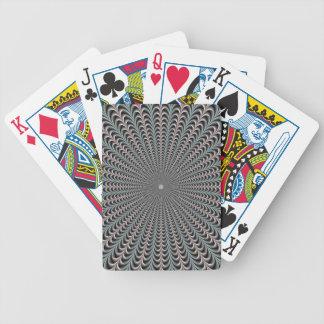Taschen in den blauen und lila Spielkarten