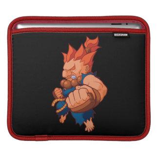 Taschen-Kämpfer Akuma iPad Sleeves