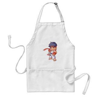 Taschen-Kämpfer Ryu Schürze