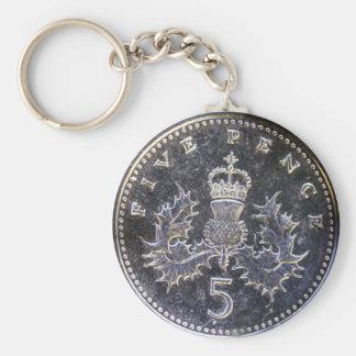 Taschen-Kosten 5p Schlüsselanhänger