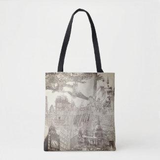 Taschen-Tasche - Anblick von London Tasche