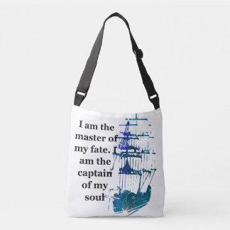 Taschen-Tasche bin ich der Meister meines Tragetaschen Mit Langen Trägern