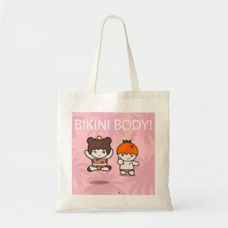 Taschen-Tasche des Bikini-Körper-| Tragetasche