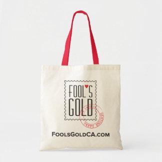Taschen-Tasche des Dummkopfs Gold