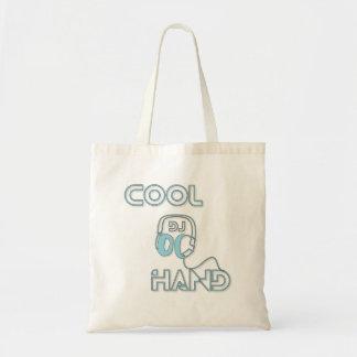 Taschen-Tasche DJ coole Hand Budget Stoffbeutel