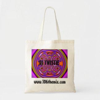 Taschen-Tasche DJ Twistie Budget Stoffbeutel