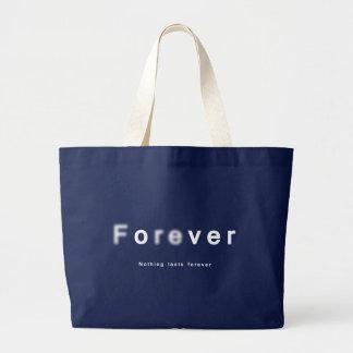Taschen-Tasche für immer vorbei: Glück und Glas, Jumbo Stoffbeutel
