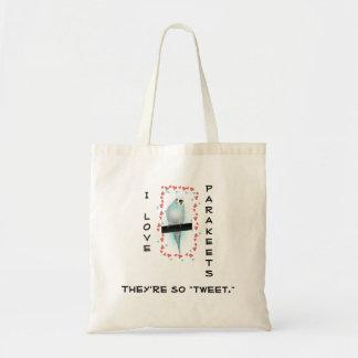 Taschen-Tasche für Parakeet-Vogel-Liebhaber Tragetasche