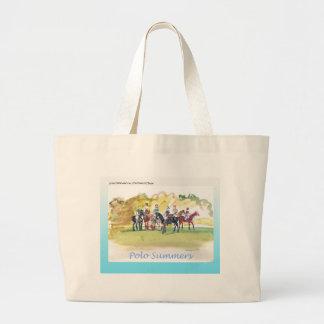 Taschen-Tasche für Polo-Liebhaber Jumbo Stoffbeutel