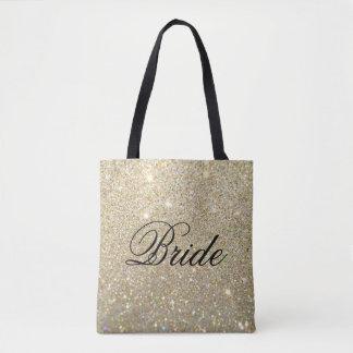 Taschen-Tasche - GoldGlitter-Fab Braut Tasche