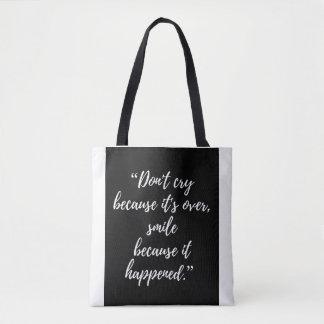 Taschen-Tasche Inspirational Tageszitat Tasche