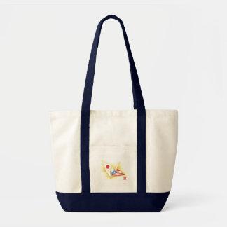 Taschen-Tasche ~ Japan-USAfreundschaft Tragetasche