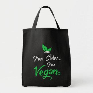 Taschen-Tasche konzipiert für Vegans Tragetasche