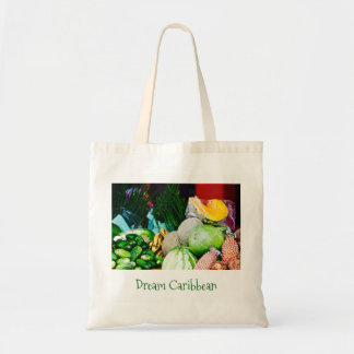 Taschen-Tasche - Leinwand-Kunst - karibische Tragetasche