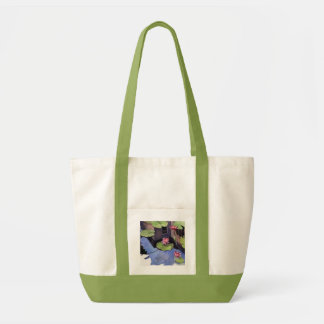 Taschen-Tasche, Limones Grün, lilly Auflageentwurf Impulse Stoffbeutel