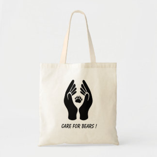 Taschen-Tasche - Sorgfalt für Bären! Tragetasche