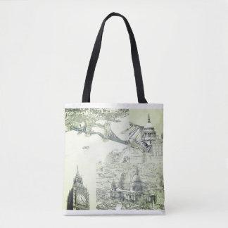 Taschen-Tasche - vier London-Ikonen Tasche