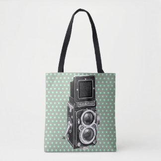 Taschen-Tasche: Vintage Kamera Tasche