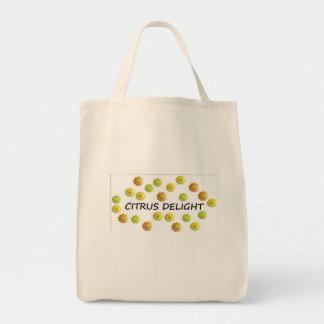 Taschen-Tasche - Zitrusfrucht-Freude Tragetasche
