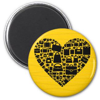 Taschenherz Runder Magnet 5,1 Cm