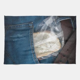 Taschenmittagessen Handtuch